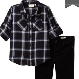 New w tags AG Flannel and corduroy Set 4T